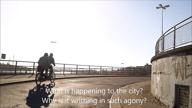 Requiem For Slussen Movement II, english subtitles
